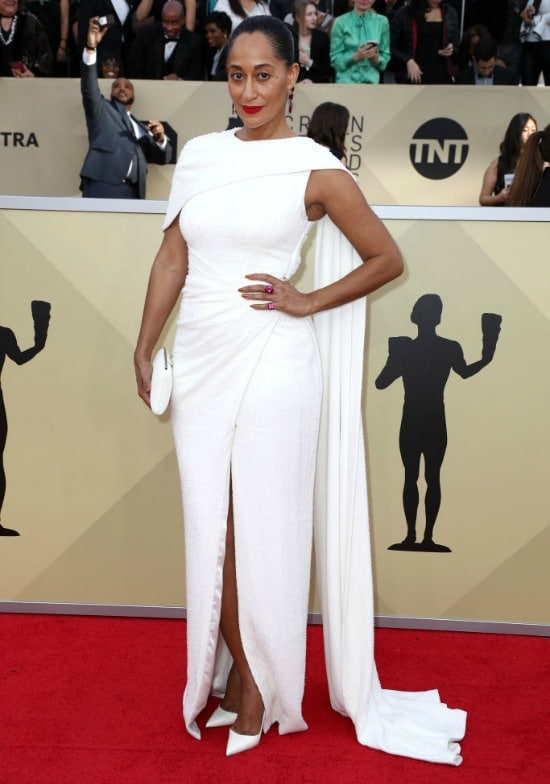 tracee ellis ross sag awards red carpet