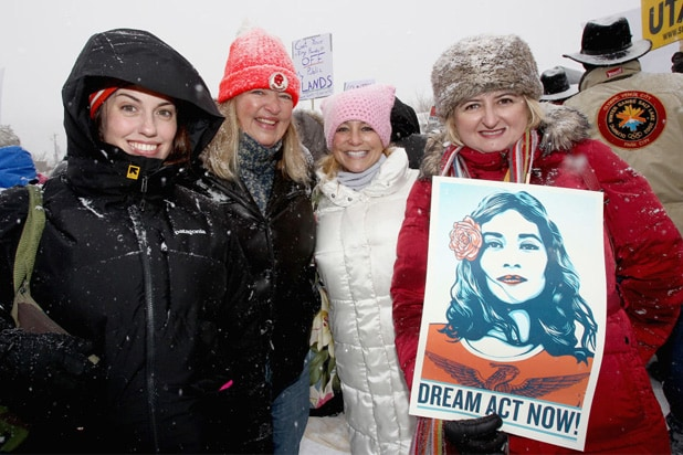 women respect rally sundance
