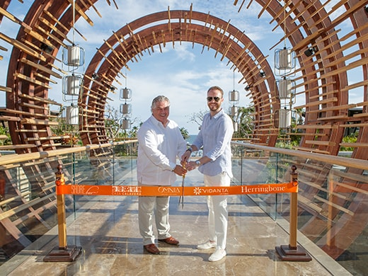 Michel Beuffe Vidanta President of Operations Nick McCabe Hakkasan