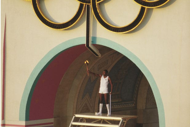 XXIII Olympic Games torch