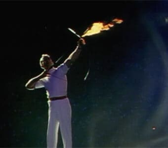 1992 Olympic torch