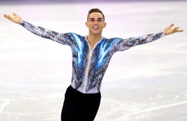 Adam Rippon 2018 Winter Olympics Figure Skater