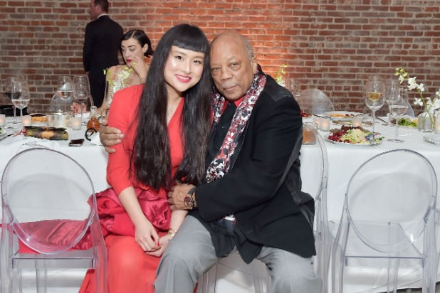 Asia Chow Quincy Jones Mr Chow