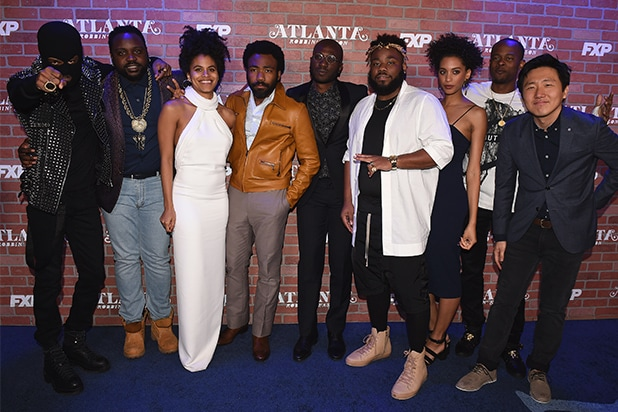 Lakeith Stanfield, Brian Tyree Smith, Zazie Beetz, Donald Glover, Ibra Ake, Stephen Glover, Stefani Robinson, Jamal Olori and Hiro Murai