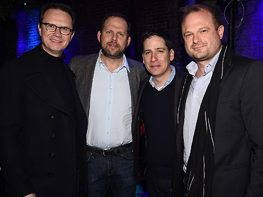 Atlanta Season 2 Robbin Season Premiere - Frank Micellotta- Peter Rice, Nick Grad, Eric Schrier and Brad Simpson 1