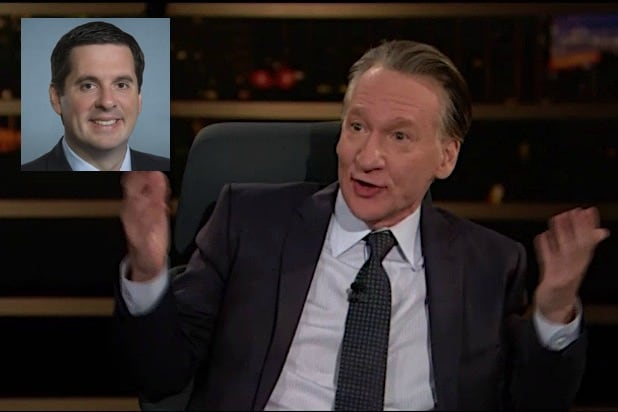 Bill Maher Devin Nunes Real Time