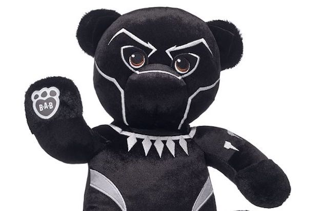 Black Panther Build A Bear