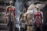 Black Panther Florence Kasumba Lupita Nyong'o Danai Gurira