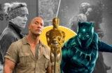 Blockbusters and Oscar contenders Black Panther Jumanji