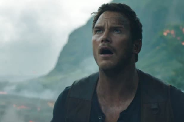 Chris Pratt Jurassic World 2