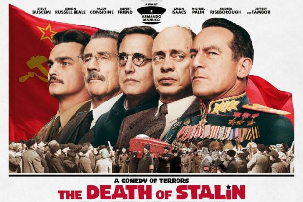 Image result for the death of stalin poster