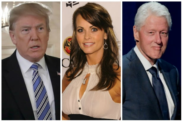 Donald Trump - Karen McDougal - Bill Clinton
