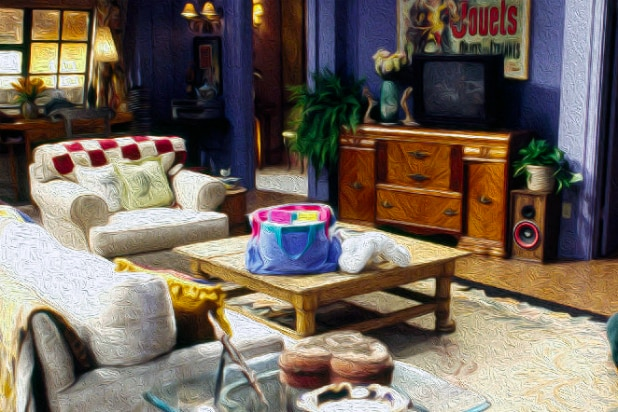 'Friends' apartment