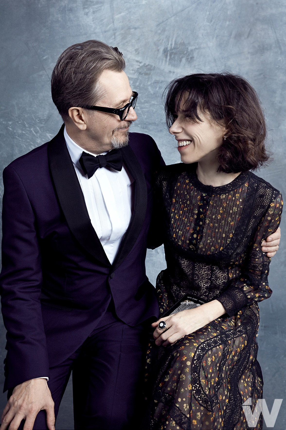 Gary Oldman and Sally Hawkins
