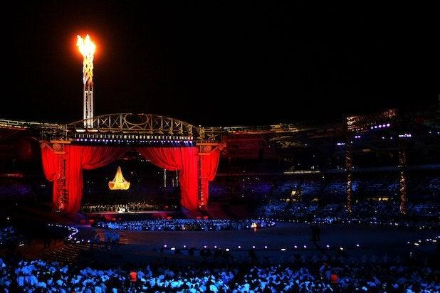 Torino 2006 Olympics Opening Ceremony Luciano Pavarotti