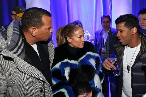 JLo + ARod+ Russel Wheels Up