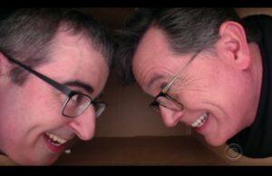 John Oliver Stephen Colbert Late Show