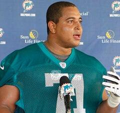 Jonathan Martin Miami Dolphins