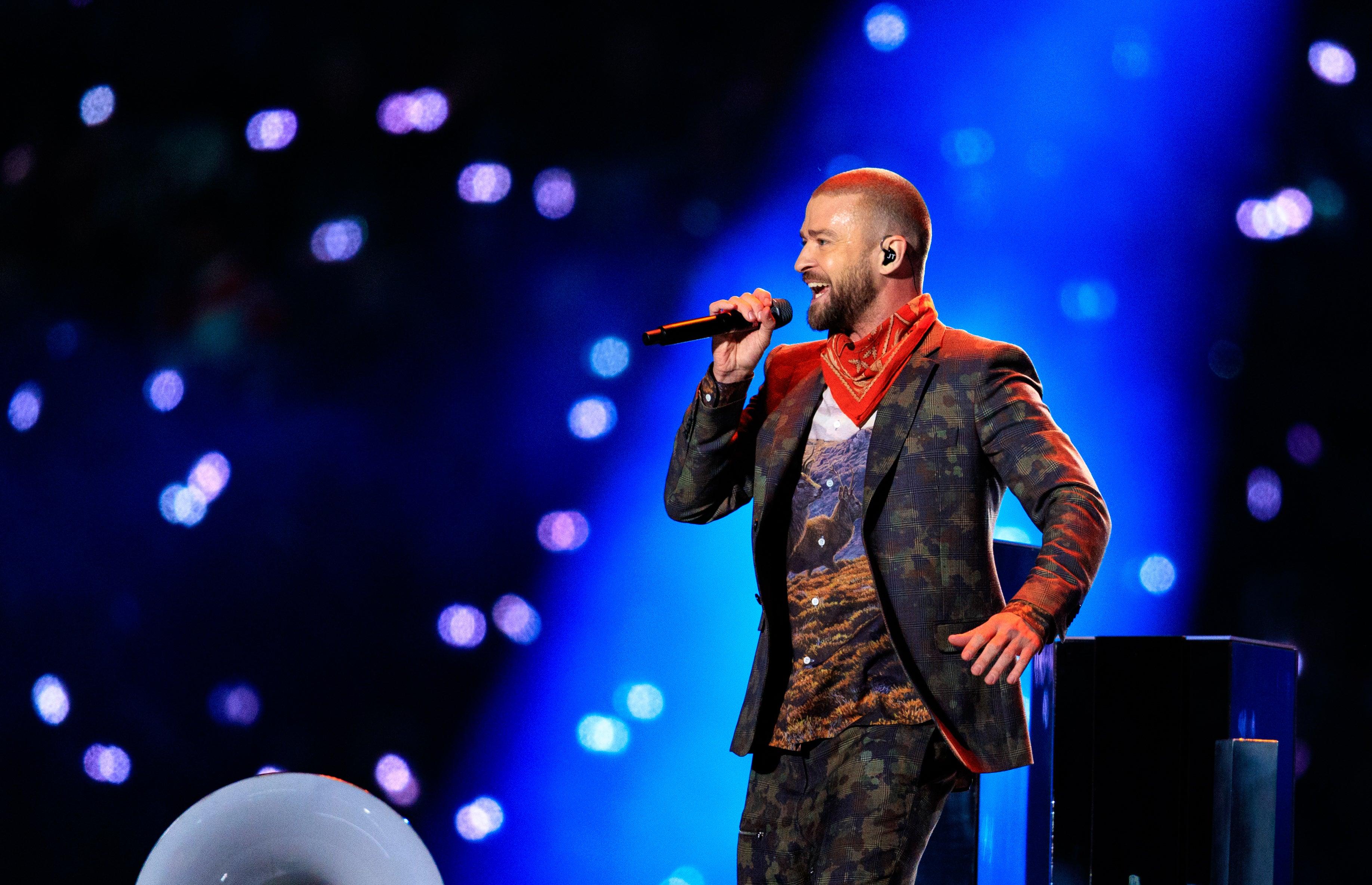 Justin Timberlake Super Bowl LII