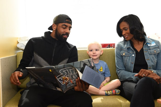 Kyrie Irving Childrens Hospital LA