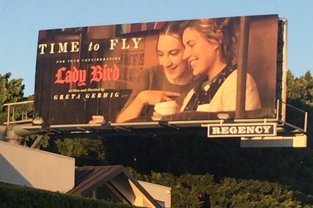 Lady Bird billboard