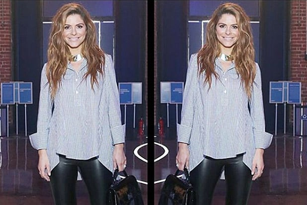 Maria Menounos AMEX NBA All-Star