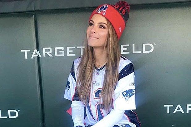 Maria Menounos StubHub Super Bowl LII