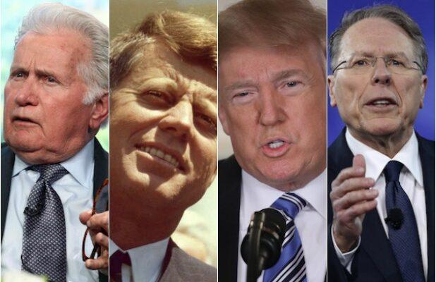 Martin Sheen JFK Trump NRA