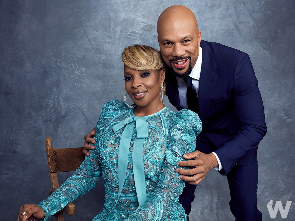 Mary J Blige and Common