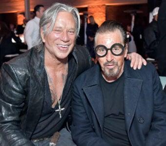 Mickey Rourke Al Pacino Mr Chow