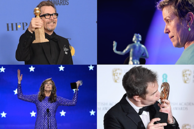 Oscar Acting Races Can Anyone Beat Gary Oldman Frances Mcdormand