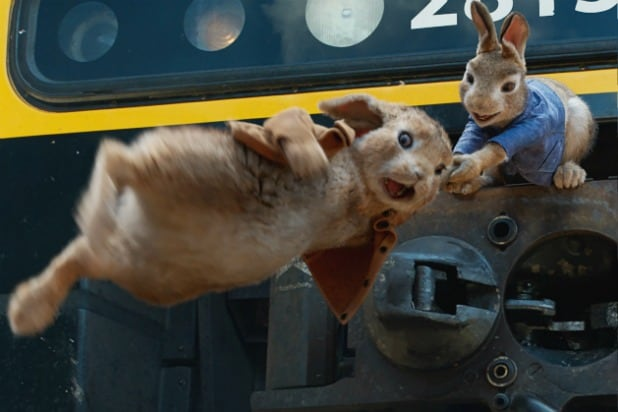 Peter Rabbit Movie Review Beatrix Potters Bunny Reduced To Flopsy Sweat