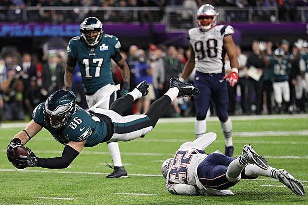 Philadelphia Eagles New England Patriots Super Bowl LII