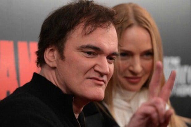 Quentin Tarantino Uma Thurman(1)