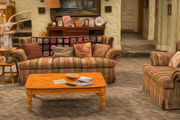 'Roseanne' house art