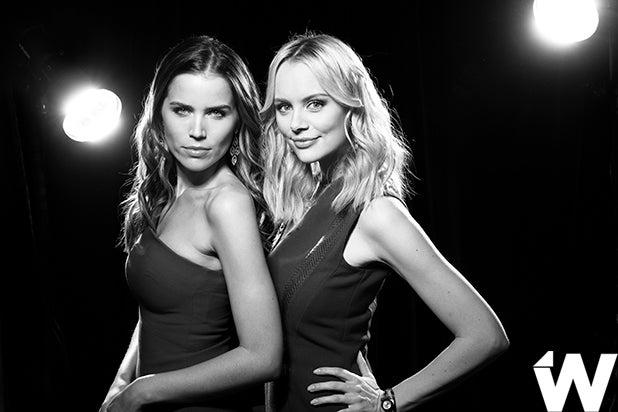 Sofia Mattson and Helena Mattson, actresses