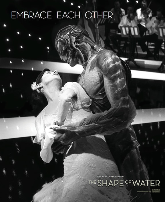 Shape of Water ad