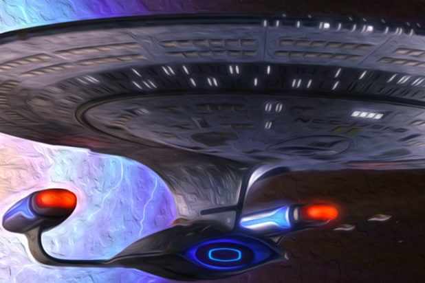 'Star Trek' ship art