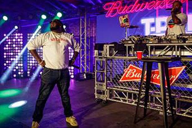 T Pain Budweiser Live