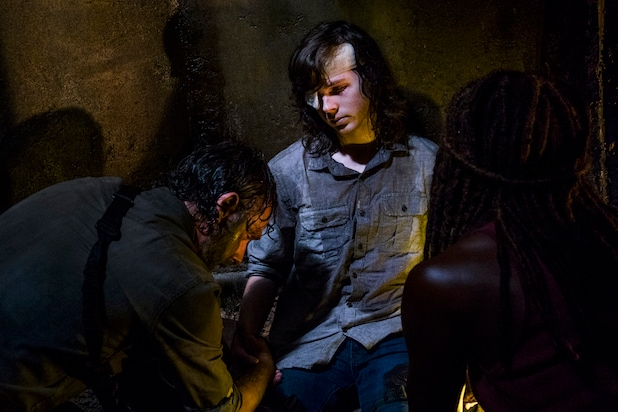 Carl Season 8 The Walking Dead