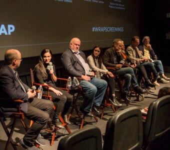 TheWrap Presents Best Documentary Short Subject and panel with Oscar Nominees at the Landmark Theatre in Los Angeles.