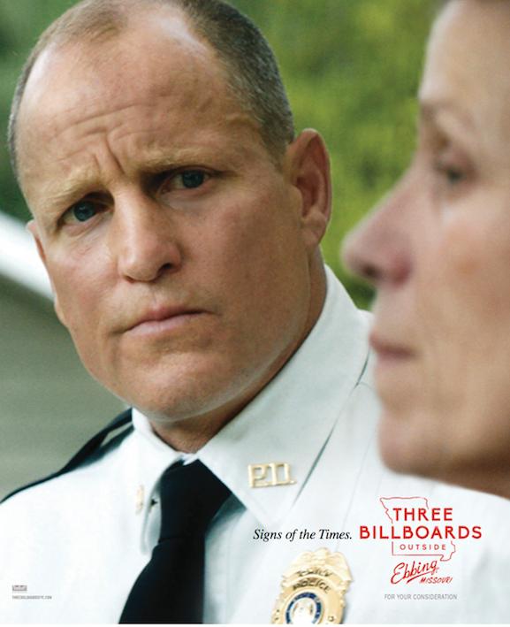 Three Billboards ad