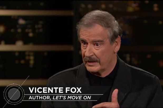 VIncente Fox on Real Time