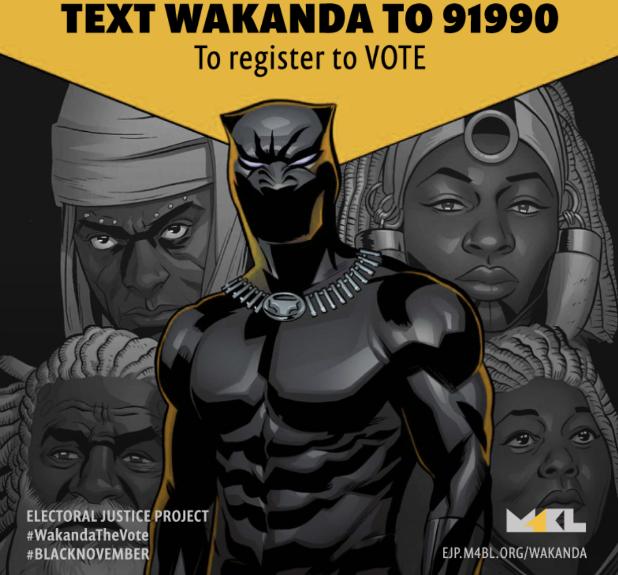 Black Panther WakandaTheVote