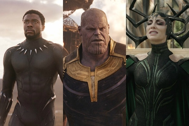 ] all 50 films of classified marvels thor ragnarok, revenge of black panthers, infinite war