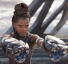 black panther post-credits scene letitia wright who is white wolf