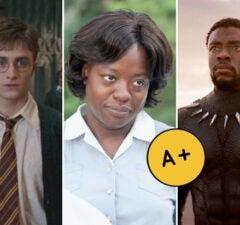 cinemascore a+ harry potter help black panther