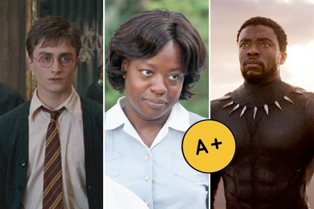 cinemascore a+ harry potter help black panther