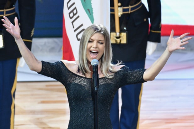 Fergie 'Butchers' National Anthem at NBA All-Star Game, Internet Kneels to Laugh