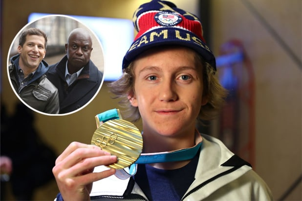 red gerard olympics brooklyn nine nine